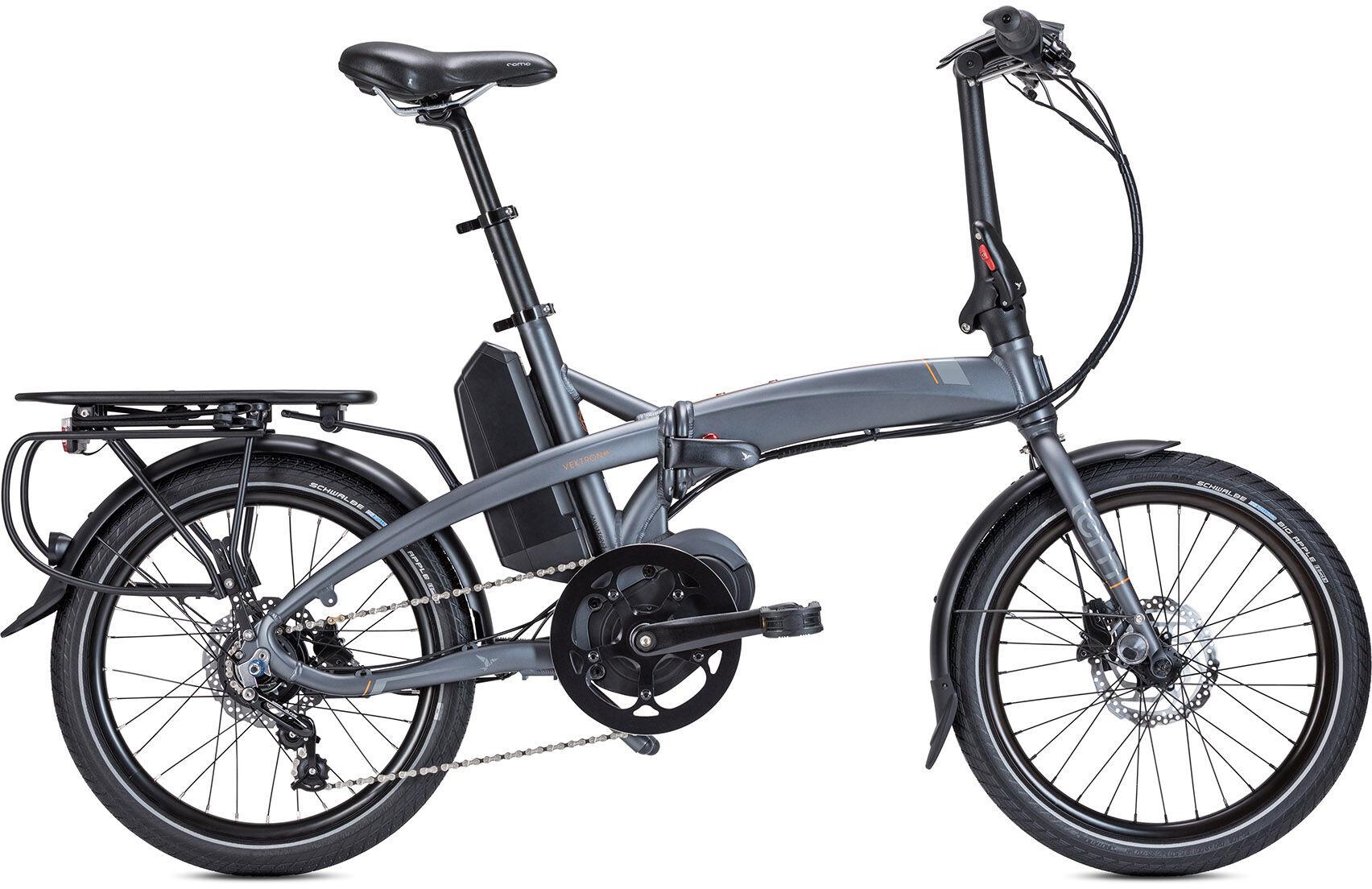 Tern Vektron D7i Rower Elektryczny Miejski Szary Sklep Bikesterpl